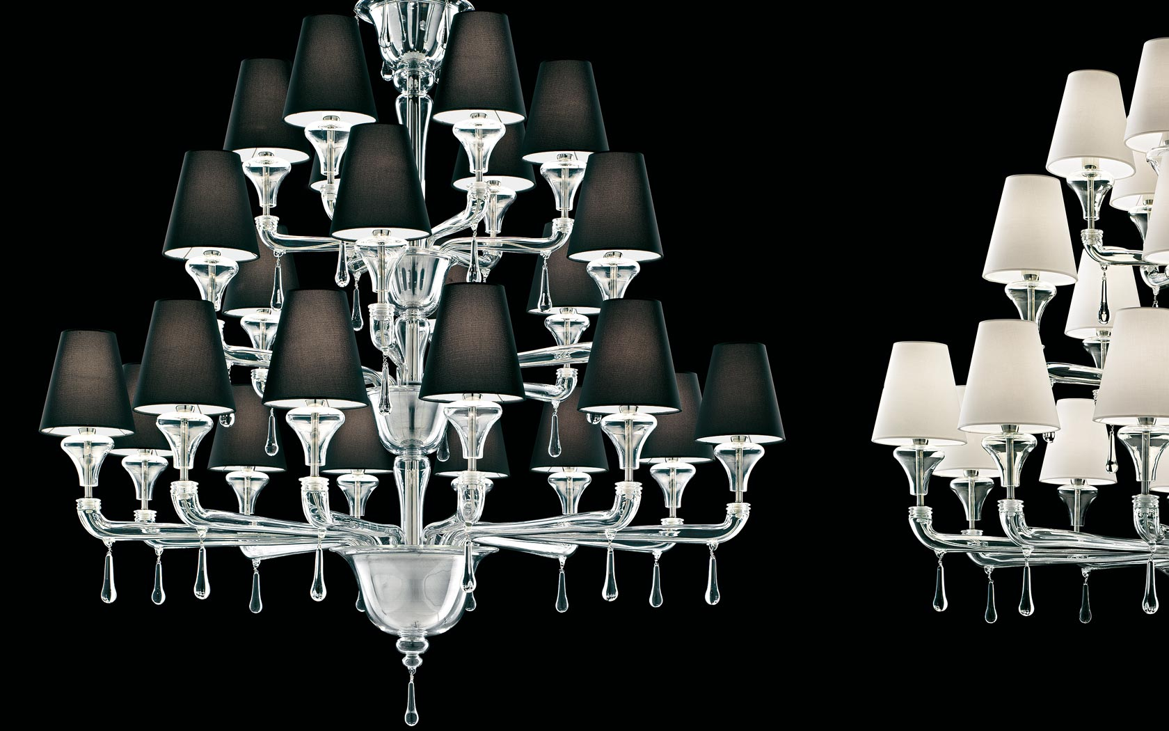 barovier chandeliers. Black Bedroom Furniture Sets. Home Design Ideas